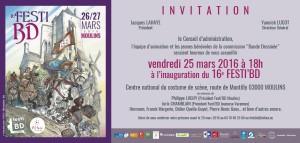Invit inauguration FESTI BD 2016